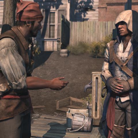 Norris rencontrant Connor