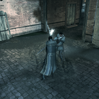 Bartolomeo affrontant Dante Moro