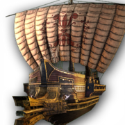 ACOD The Scarlet Dawn Ship Design