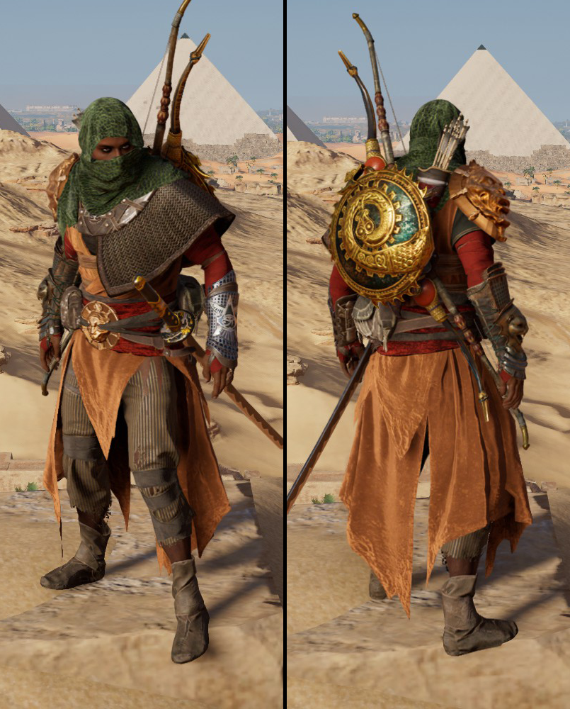 Assassin S Creed Origins Outfits Assassin S Creed Wiki Fandom