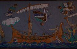 ACOd-muralmythSirenOdysseus