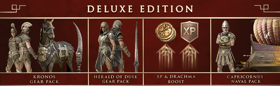 Deluxe Pack (Odyssey) | Assassin's Creed Wiki | FANDOM powered by Wikia