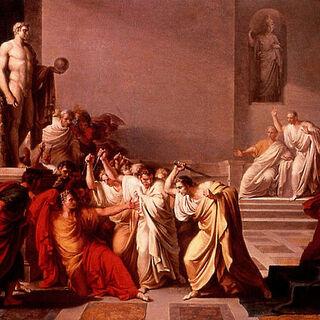 L'assassinat de César par Brutus
