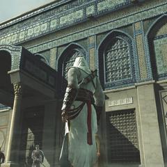 清真寺的其中一道大门