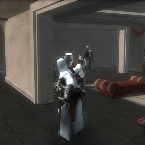 阿泰尔刺杀一名守卫