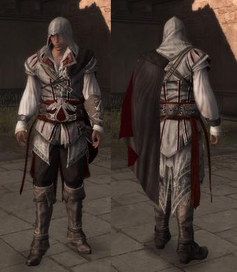 Ezio Auditore S Robes Assassin S Creed Wiki Fandom