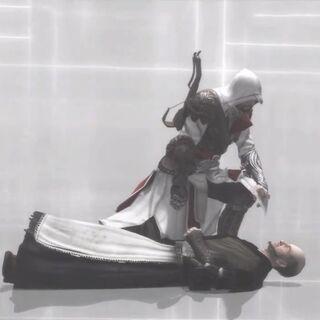 Ezio tötet den Magister