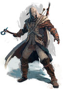 Native Assassin Connor concept
