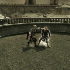Ezio verslaat Mario.