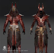 ACO - Anubis Outfit Concept Art by Jeff Simpson