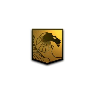 弗拉维乌斯的狮子纹章
