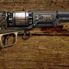 弗莱双胞胎左轮手枪原画