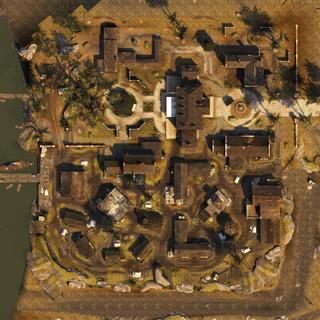 Vue aérienne de la <b>Plantation de Virginie</b>