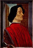 Giuliano de' Medici - Sandro Botticelli