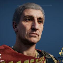 凯撒的头模