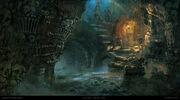 ACU Catacombs - Concept Art
