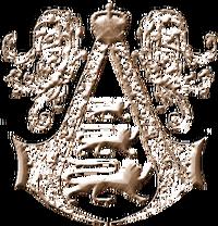 Assassins logo england bronze