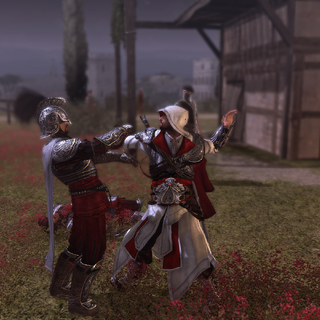 埃齐奥刺杀一名守卫