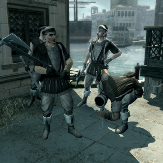 A group of Mercenaries in Venice