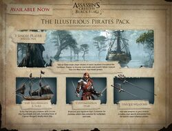 AC4 Illustrious Pirates Pack