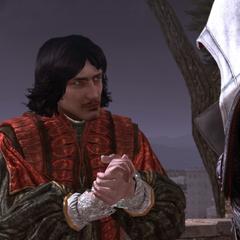 Copernic remerciant Ezio