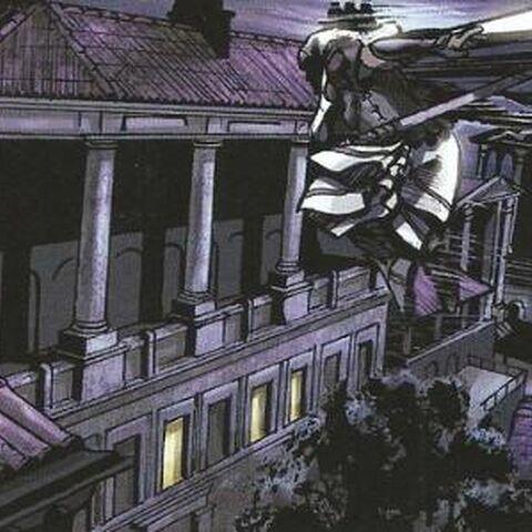 阿奎卢斯在吕迪努姆屋顶自由奔跑