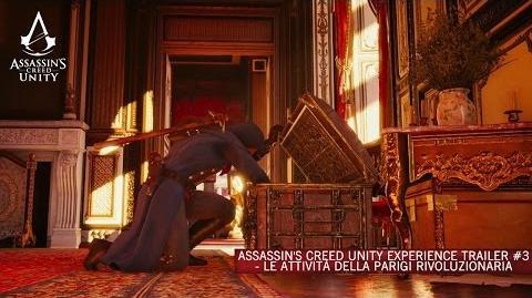 Assassin's Creed Unity Experience Trailer 3 - Le attività della Parigi rivoluzionaria IT