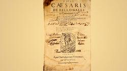 DTAE Civil War by Julius Caesar - 1574 Edition