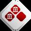 Medaglia argento economia Roma - ACBH