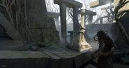 Medusa temple artwork 2 - Assassin's Creed Odyssey
