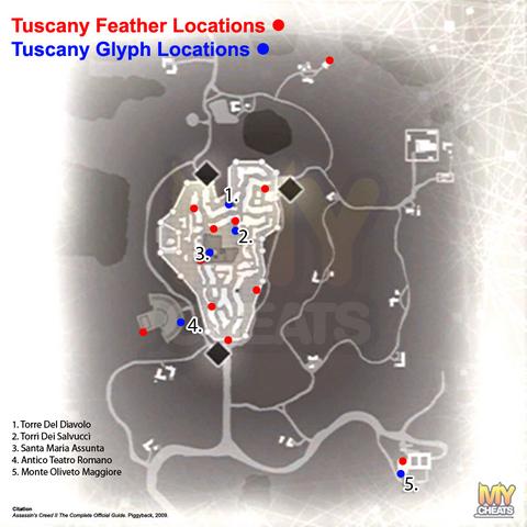 托斯卡纳/圣吉米纳诺符文地图
