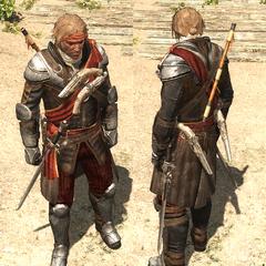 德雷克船长的服装