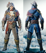 ACU Legendary Musketeer Outfit