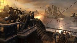Aquila palle incatenate battaglia di Chesapeake