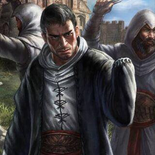 <b>Malik</b> amputé, dans <i>Assassin's Creed: Memories</i>