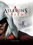 Assassin's Creed fumetto francese cover Desmond