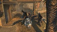Manewr Hak i ucieczka w wykonaniu Ezia Auditore (by Kubar906)