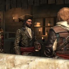 Des pirates se retrouvant à l'<i>Old Avery</i>