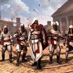 Ezio et sa Confrérie