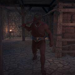 卡历亚斯在柯罗伊伯斯要塞