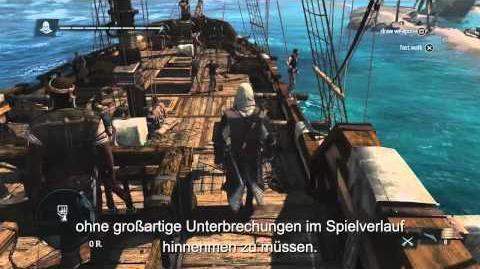 13 Minuten voller Karibik Open-World Gameplay Assassin's Creed 4 Black Flag DE