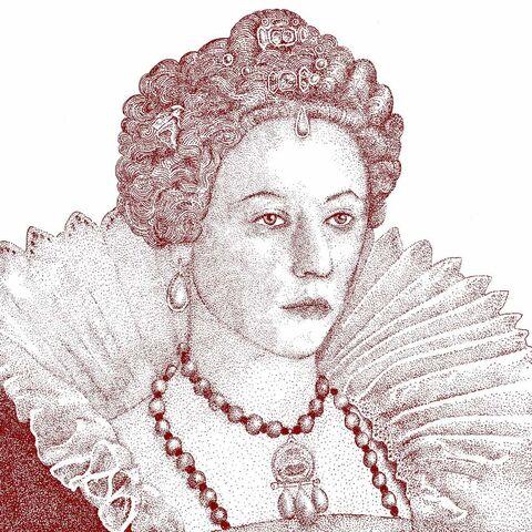 伊丽莎白一世的一幅画像