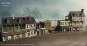 New Orleans Downtown Houses concept by EddieBennun