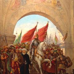 穆罕默德二世进城
