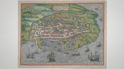DTAE Map of Alexandria 1575