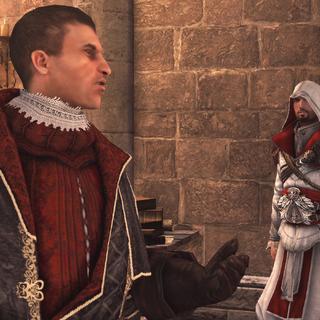 马基亚维利说起城中的刺客盟友