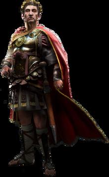 ACO Julius Caesar render