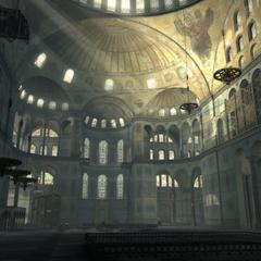 圣索菲亚大教堂的内部