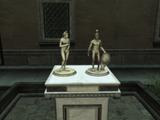 蒙特里久尼小雕像