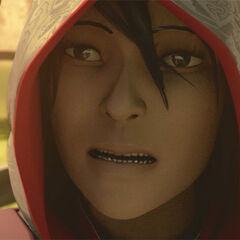 Shao Juns Gesicht